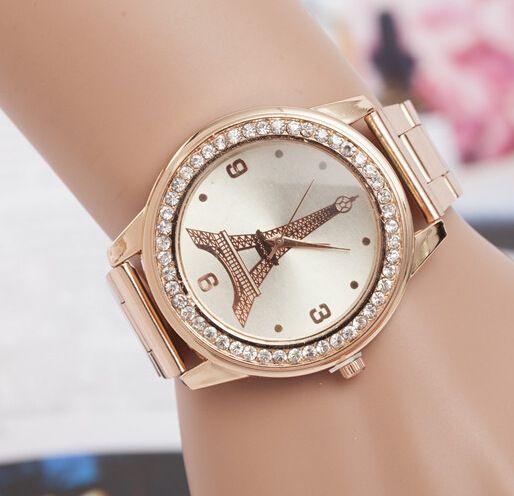 $4.19 (Buy here: https://alitems.com/g/1e8d114494ebda23ff8b16525dc3e8/?i=5&ulp=https%3A%2F%2Fwww.aliexpress.com%2Fitem%2FNew-Fashion-Eiffel-Tower-Gold-Watch-Women-Stainless-Steel-Rhinestone-Dress-watches-ladies-Quartz-Watch-dames%2F32751224088.html ) New Fashion Eiffel Tower Gold Watch Women Stainless Steel Rhinestone Dress watches ladies Quartz-Watch dames horloges Hot sale for just $4.19