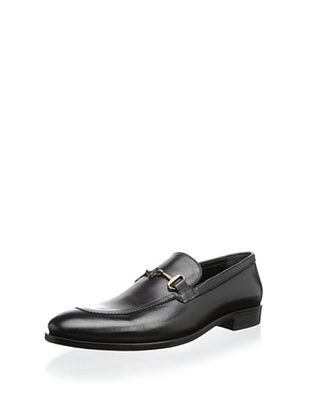 67% OFF Roberto Cavalli Men's Slip On with Metal Ornamet (Black)