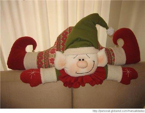 Moldes para duendes navideños - Imagui