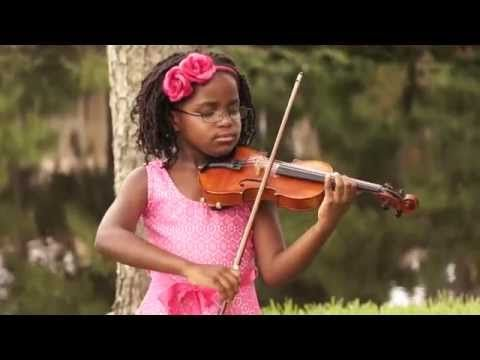7 Year-Old Violinist Leah Flynn on Mission to Share Her Music & Inspire Other Children (VIDEO) | GOOD BLACK NEWS