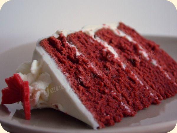 Red velvet cake, crème au mascarpone (Hummingbird Bakery) | Les Yeux plus gros que le Ventre