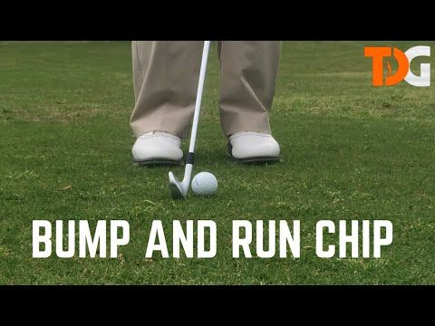 Bump and Run Chip - Chipping Tips - Tyler Dice Golf #golfvideo #golftips…