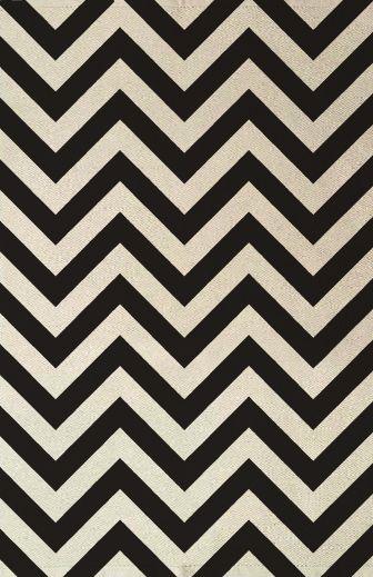 Johnathon Adler wool herringbone rug