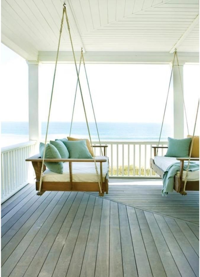 twin hanging beds