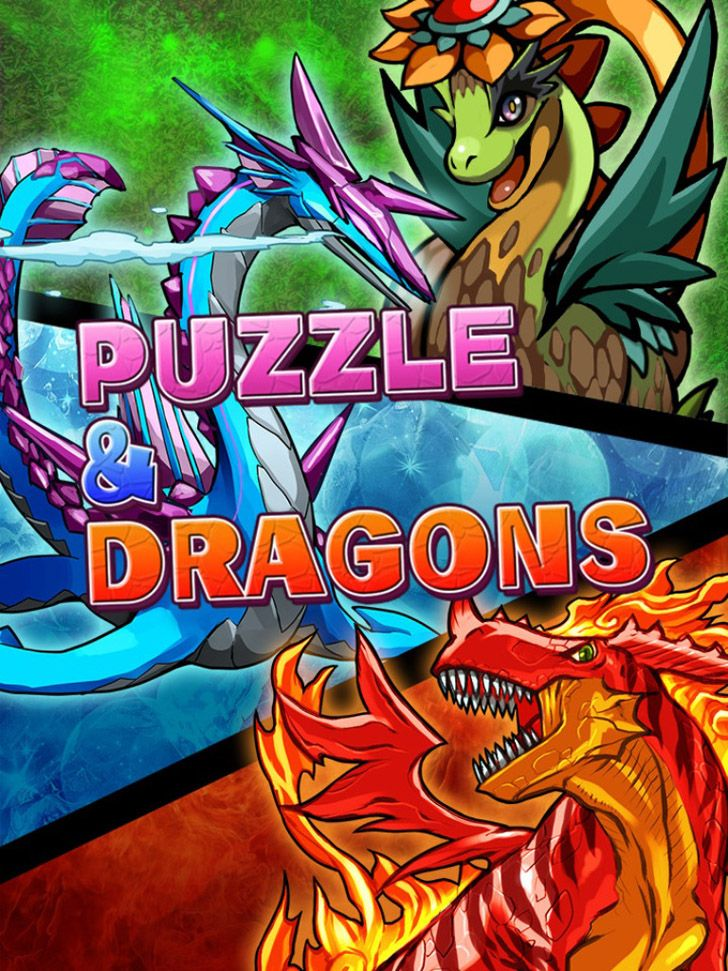 Puzzle & Dragons App by GungHo Online Entertainment. Puzzle RPG App.