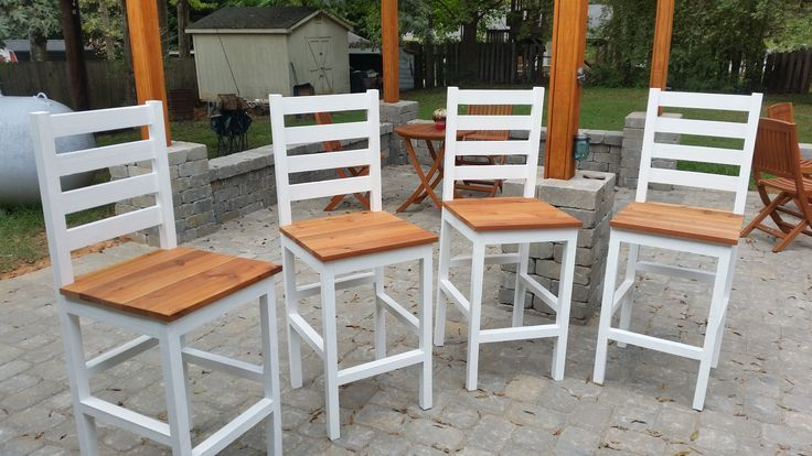 Stupendous Ana White Cedar Pub Chairs Diy Projects In 2019 Diy Cjindustries Chair Design For Home Cjindustriesco
