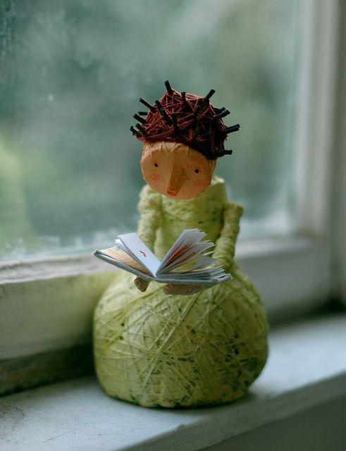 I love her!ⓧⓞⓥ umla:  (via Pin by Karen D. Otto on Cardboard Crush & Paper Love | Pinterest)