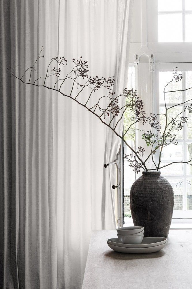 Copahome overgordijn, gordijn,  wit / Rideaux, blanc