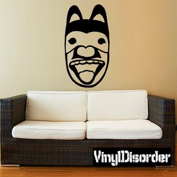 Mask Southwestern Wall Decal - Vinyl Decal - Car Decal - 036