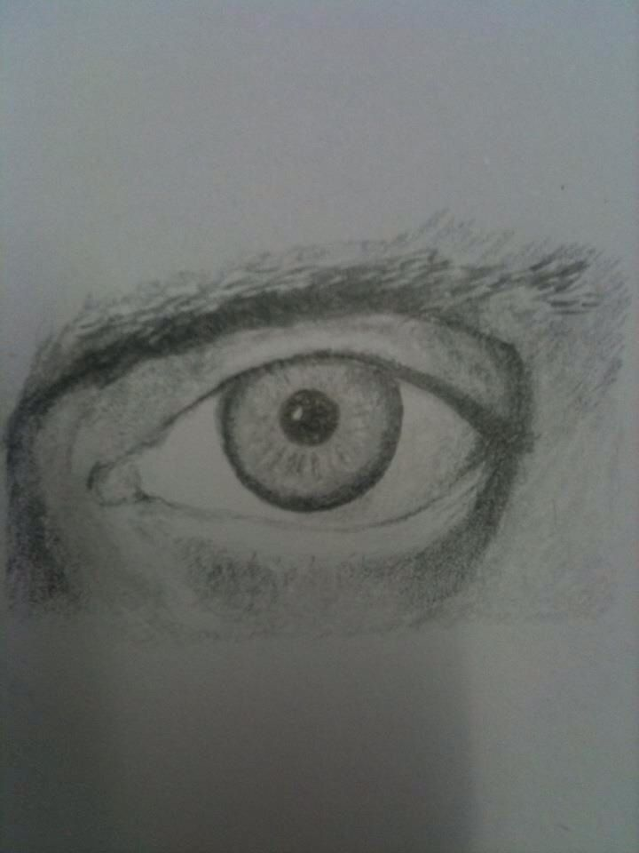 Portrait class work