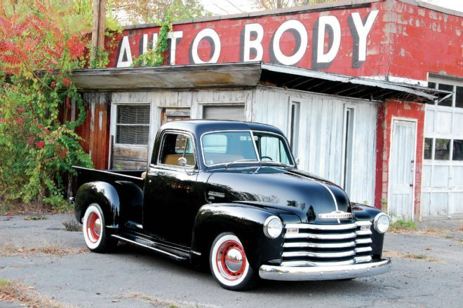 Ron Parese was offered a 1951 Chevrolet 3100 as a base for a personal project and he enlisted the help of his friends to rebuild it.
