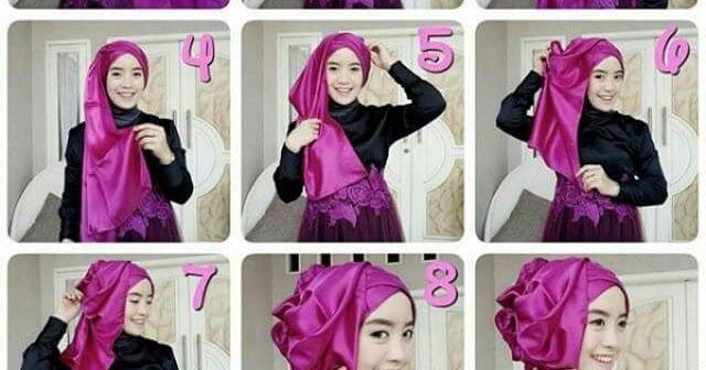 Tutorial Hijab Pashmina Untuk Nikah Tutorial Hijab Pashmina Pengantin Pesta Pernikahan