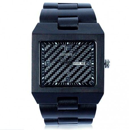 Náramkové drevené hodinky sú tým najluxusnejším, najelegantnejším, okúzľujúcim čo u nás môžete nájsť. Kvalitné spracovanie a kombinácia jedinečného dreva dávajú hodinkám elegantný tvar. S trendy náramkovými hodinkami jednoznačne zaujmete svojich blízkych i obchodných partnerov, alebo priateľov. Náramkové drevené hodinky sú skvelým darčekom, ktorým potešíte srdce svojich blízkych. Proste budete okúzľujúci. Ste originálny a odlíšte sa od ostatných. Jedinečný. Hodinky sú dodávané v elegantnej…