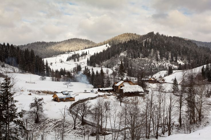 Romanian huts
