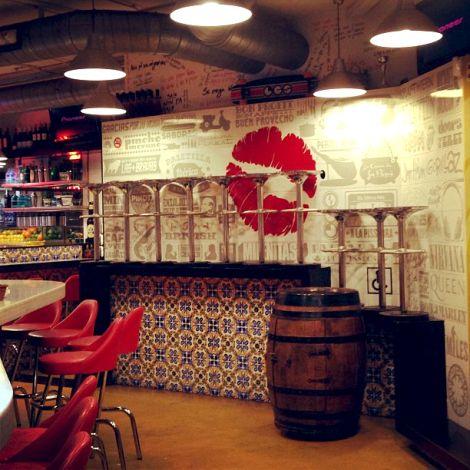 Lolita tapas restaurant, Barcelona