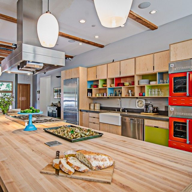 Kerf design seattle plywood laminate build in and free for Kitchen cabinets seattle