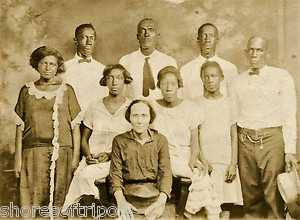 african americans in 1920's | 1920's African American Family Generational Original Photo Men Woman ...