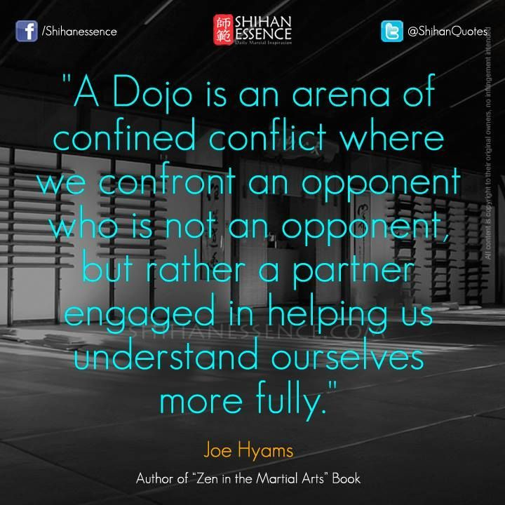 What the dojo and those training there are all about. #Dojo #DojoLife www.Facebook.com/McDojoLife