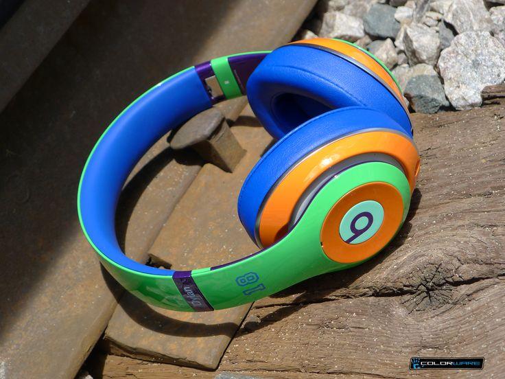 This customer took full advantage of our vast #colorpalette! #custom #beats #headphones