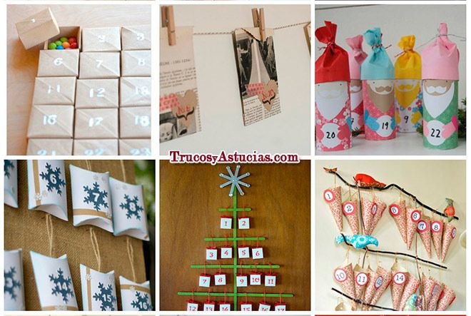1000 images about manualidades para navidad on pinterest - Manualidades para decorar tu casa ...