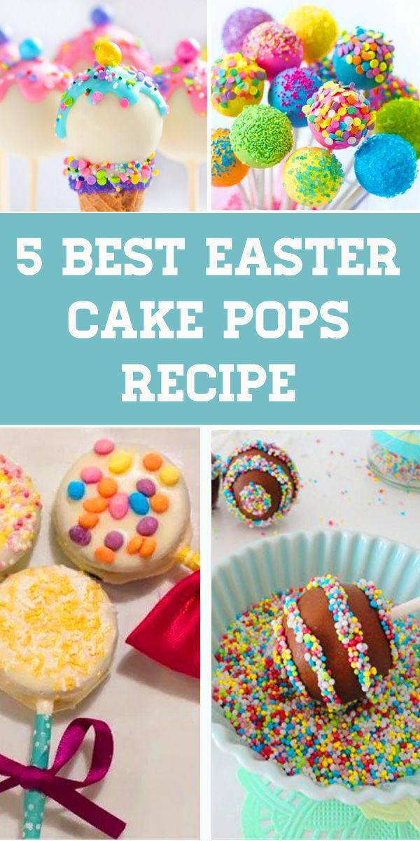 5 Best Easter Cake Pops Recipe With Images Easter Dessert