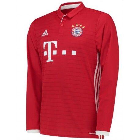 Maillot Bayern Munich 2016-2017 Domicile Manches Longues