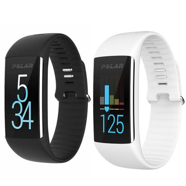 This waterproof fitness tracker is the first to have both a wrist-based heart rate monitor and Polar personalized training guidance, as well 24/7 activity tracking.