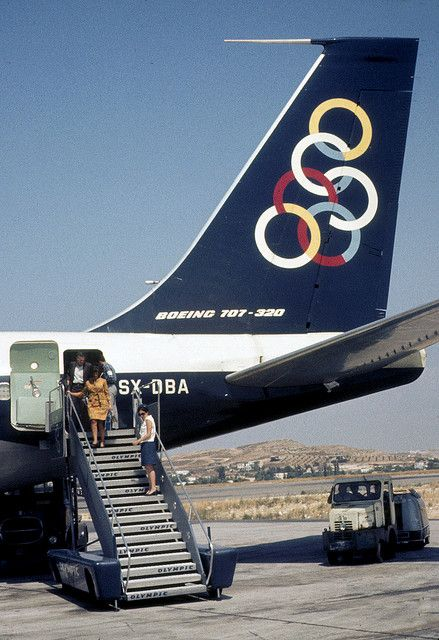 Olympic Airways---Gma on the steps by keithsjackson, via Flickr