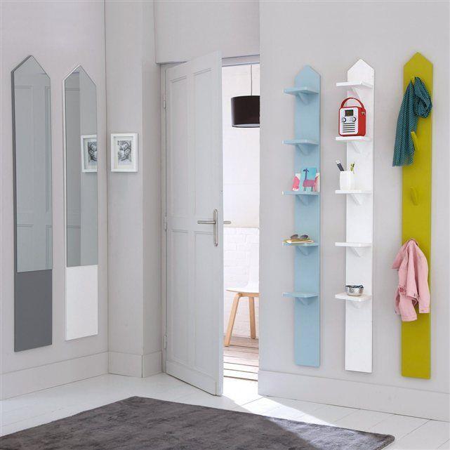 L'étagère 5 tablettes Rina, sympa et colorée, cette étagère se fixe en position verticale et trouve facilement sa place dans toutes les pièces de la maison