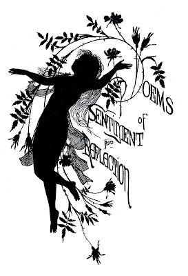Vintage Silhouette - Poem Fairy - The Graphics Fairy