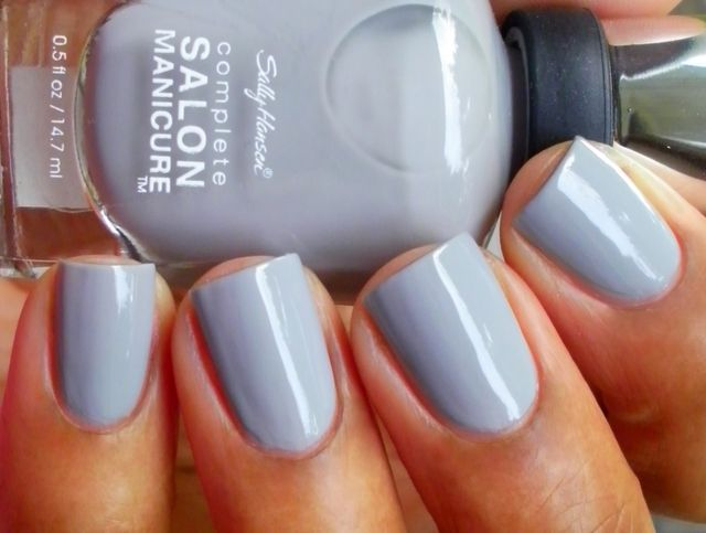 Sally Hansen Dorian Gray (not sure if they spell it the same as the novel...)
