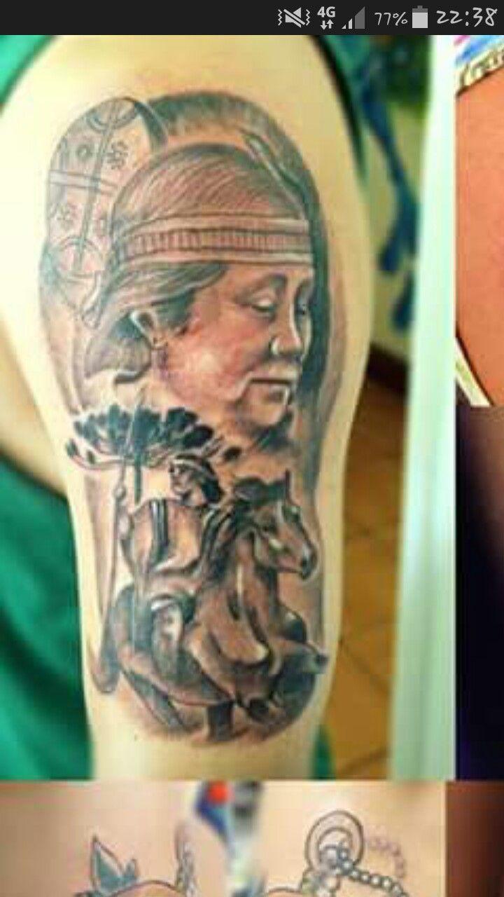 Tatuajes mapuche tatto