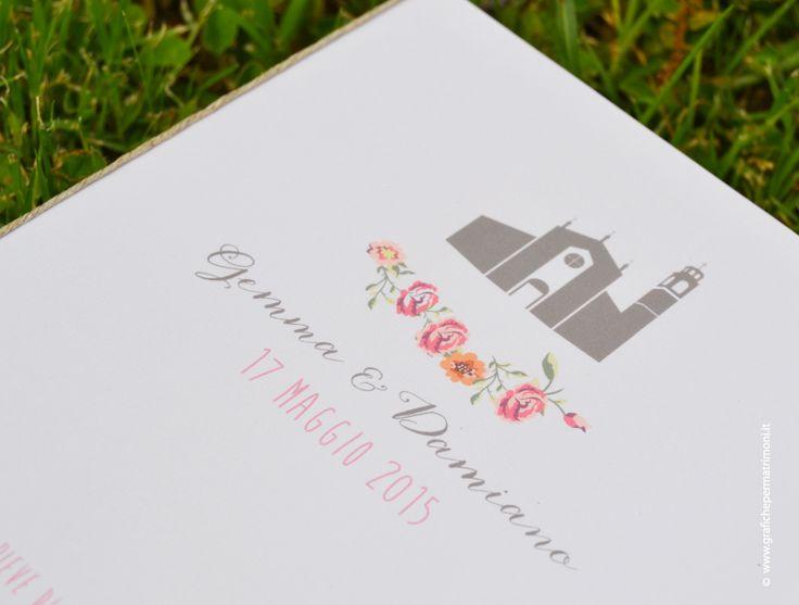 Grafiche per Matrimoni - Gemma & Damiano Wedding Suite - Partecipazioni Reggio Calabria