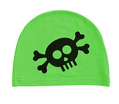 boys: skull on green