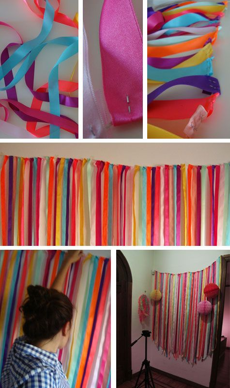 Idea foto cabina photo booths ems and photos for Decoracion de papel crepe