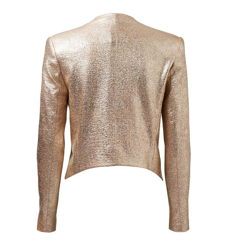 stunning gold jacket