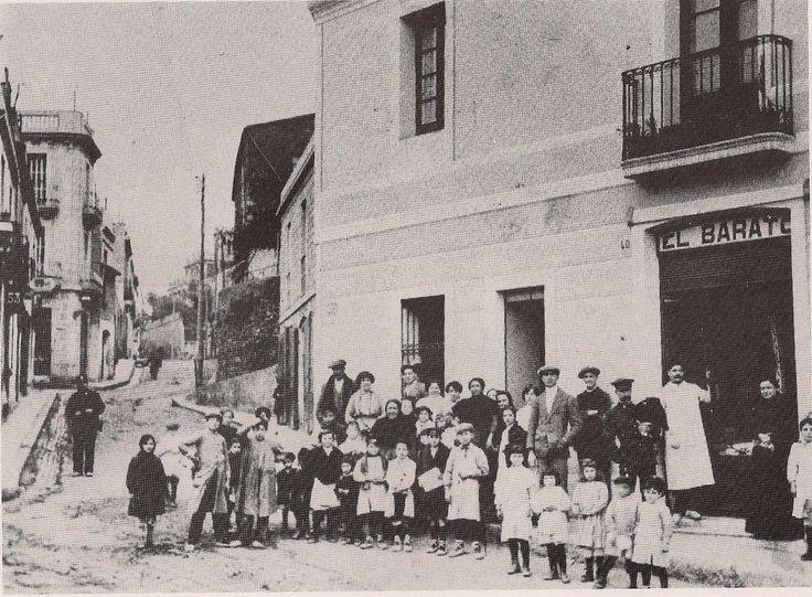 carrer horta 1900 - Barcelona