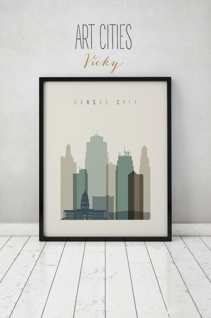 Kansas City print, Poster Wall art Kansas cityscape Kansas City skyline City poster Typography art Home Decor Digital Print ART PRINTS VICKY by ArtPrintsVicky on Etsy https://www.etsy.com/listing/246150001/kansas-city-print-poster-wall-art-kansas
