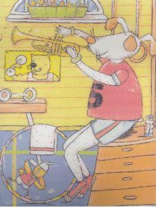 Liset op de trompet