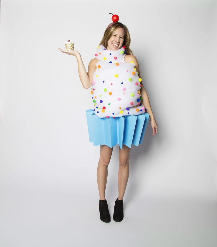 be cute as a cupcake this halloween and diy your very own cupcake costume - Halloween Costume Cupcake