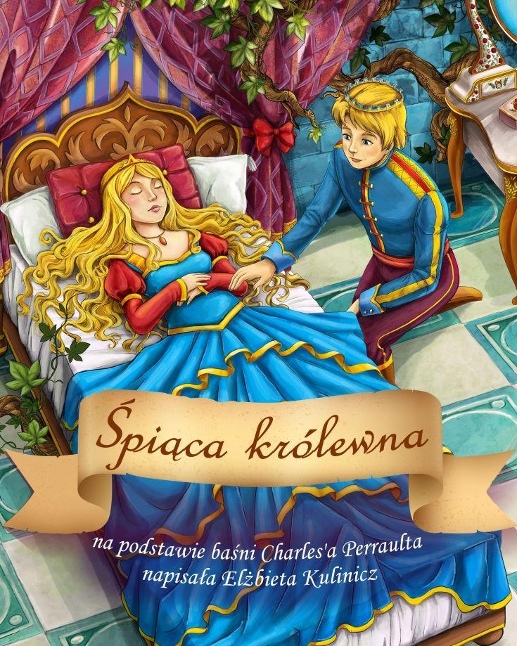 Śpiąca Królewna - ilustrowany audiobook dla dzieci