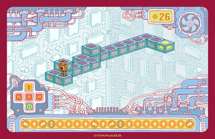 © Barnabus - Projekt ekranu ▪ Design of the screen of the educational #game.