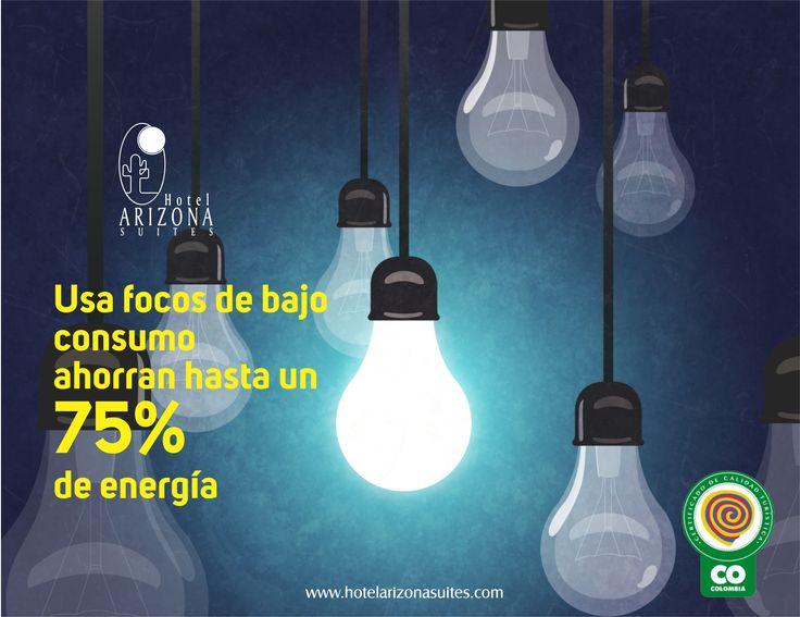 ¿Sabias Qué? usar focos de bajo consumo ahorras hasta un 75% en energía! #AhorrodeEnergia #cucuta