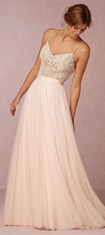 2016 Custom Charming White Lace Prom Dress,Spaghetti Straps Evening Dress,Chiffon Long Prom Dress