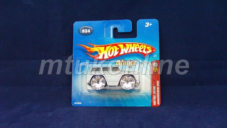 HOTWHEELS 2005 BLINGS | MERCEDES-BENZ G500 | 4/10 | 034-2005 | G7920