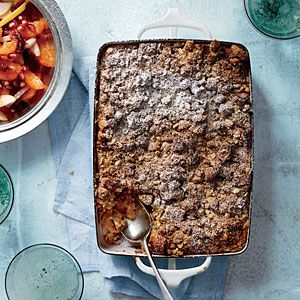 Bananas Foster Breakfast Strata | MyRecipes.com -Take care when adding the rum to the hot pan; it flames up immediately. You can also add the rum off the heat and then carefully light it with a
