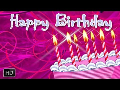 Happy Birthday song with Candles - YouTube