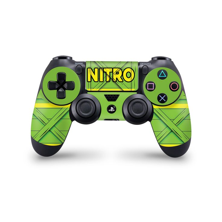 Nitro Crate #playstation 4 Controller Skin Crash Bandicoot Inspired