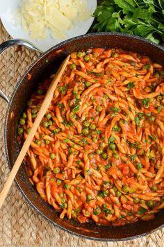 Slimming Eats - Slimming World Recipes Syn Free One Pot Speed Pasta | Slimming Eats - Slimming World Recipes