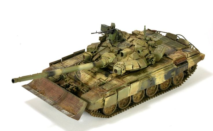 Meng's Russian T-90MBT with cast turret | 1:35 scale